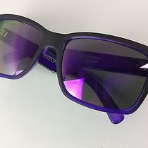 Von Zipper Elmore Sunglasses Black Purple Chrome Lens Photo