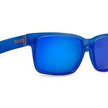 Von Zipper Elmore Sunglasses Brainblast Blue / Blue Metallic Smrfaelm-Sge Photo