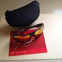 Von Zipper Ether Hammerlock Trevor Bayne Daytona Black/red Sunglasses Lunar Glo Photo