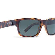 Von Zipper Fulton Sunglasses Satin Tortoise  Grey Smrf7ful-Tor Photo