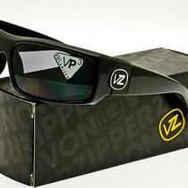 Von Zipper Kickstand Polarized Sunglasses Black Gloss-Grey Polar Smpf5kic-Bpp Photo
