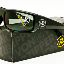Von Zipper Kickstand Sunglasses Black Gloss Frame / Grey Lens Smsfxkic-Bkg Photo