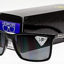 Von Zipper Lesmore Polarized Sunglasses Black Gloss Grey Poly Polar Smpf5les-Bpp Photo