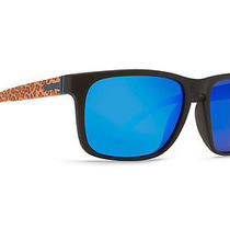 Von Zipper Lomax Party Animals Sunglasses Black Tangerine / Astro Blue Chrome Photo