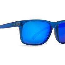 Von Zipper Lomax Sunglasses Brainblast Blue / Blue Metallic Smsf1lom-Sge Photo