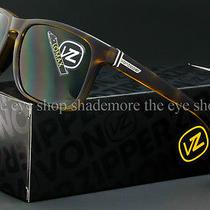Von Zipper Lomax Sunglasses Tortoise Satin  Vintage Grey Smsf1lom-Tor Photo