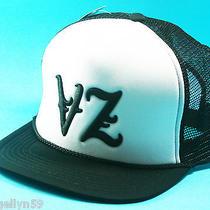 Von Zipper Mens Cap Black & White Surf Skate  Hat One Size Adjustable New Photo