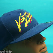 Von Zipper Mens Cap Blue & Fluro Yellow Surf Skate Hat One Size Snap Back New Photo