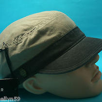 Von Zipper Mens Platoon Military Hat Army Green Brown Black Cabbie Cap One Size Photo