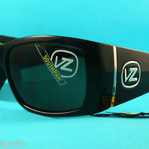 Von Zipper Mens Southpaw Sunglasses Black New in Box Rrp 179.00 Photo