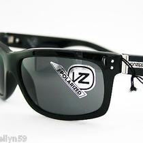 Von Zipper Mod Con Mens Ladies Sunglasses Black Polarised Lens New Rrp 199.00 Photo