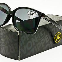 Von Zipper Polarized Castaway Sunglasses Gloss Black  Grey Polar Sjpf1cas-Bpp Photo