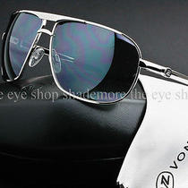 Von Zipper Skitch Sunglasses Silver  Grey Chrome Mirror Aviator Smwfqski-Sgc Photo