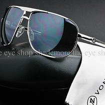 Von Zipper Skitch Sunglasses Silver  Grey Chrome Mirror Aviator Smwfqski-Sgc Photo