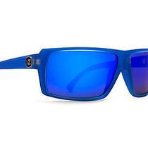 Von Zipper Snark Sunglasses Brainblast Blue / Blue Metallic Smsfcsna-Sge Photo