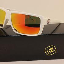 Von Zipper Snark Sunglasses  Gloss White W/ Lunar Chrome  Smsfcsna-Wnc Photo