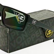 Von Zipper Snark Sunglasses Satin Black  Grey Smsfcsna-Bks Photo