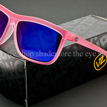 Von Zipper Spaceglaze Luna Sunglasses Pink Bubblegum  Astro Glo Sjjftlun-Pnk Photo