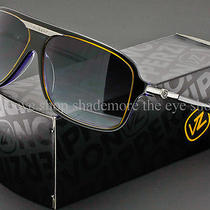 Von Zipper Stache Sunglasses Black Violet  Grey Gradient Smffxsta-Bvg Photo