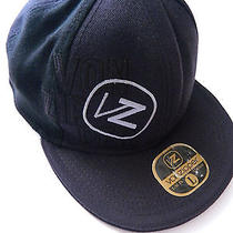 Vonzipper Hat Cap Black With Gray Logo Size L-Xl Fit Baseball  Photo