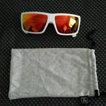 Vonzipper Snark Sunglasses Mindglo White Gloss/lunar Glo One Size Photo