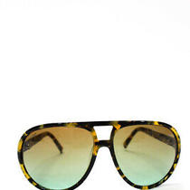 Vonzipper Unisex Telly Sunglasses Brown Tortoise Print Plastic Frames Photo