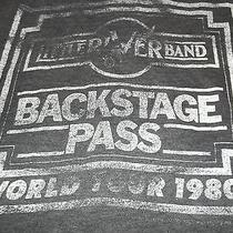 Vtg 1980 Little River Band Folk Rock Backstage Pass Only Concert Tour 80s Shirt Photo