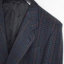 Vtg 1980's Missoni Uomo Plaid Blazer Sport Coat Jacket 40 S Photo