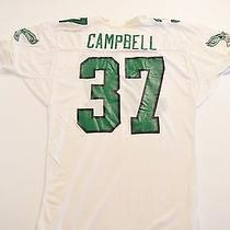 Vtg 1990 Game Worn Authentic Philadelphia Eagles Jesse Campbell Jersey Nc State Photo