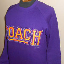 Vtg 1990s Coach Tv Show (1991) Purple Sweatshirt-Nwt Minnesota State/nelson-L/xl Photo
