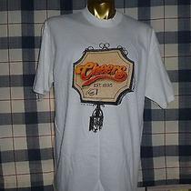 Vtg 1992 Cheers Boston Tv Show Cliff Norm Diane Carla Sam Coach T Shirt L Photo