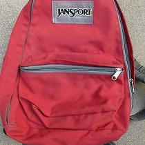 Vtg 70s 80s Jansport Backpack Small Hiking Day Pack Red Waist Strap Made Usa Photo