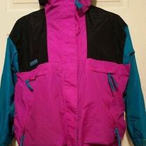 Vtg 80's 90's Columbia Ski Jacket Radial Sleeve Vamoose Women's Size Xl Photo