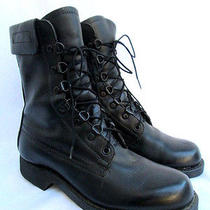 Vtg 80's...addison...military...steel toe...work...combat...grunge...boots...6.5 Photo