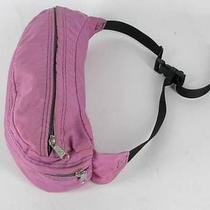 Vtg 80s 90s Jansport Usa Zip Pink Fanny Pack Hip Vault Travel Trek Hike Bike Ski Photo