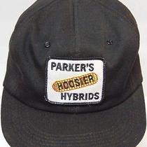 Vtg 80s Parker Hoosier Farm Corn Patch Snapback Trucker Hat Made in Usa K-Brand Photo