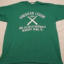 Vtg 80s Tshirt American Legion Mid Atlantic Regionals Newport News Va Xl Cal Cru Photo