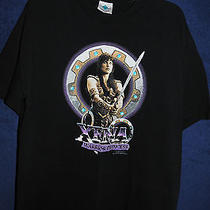Vtg '90s 1997  Xena Warrior Princess Adventure Fantasy Tv T Shirt Lg  Photo