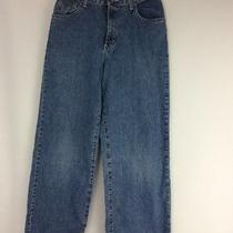 Vtg 90s Calvin Klein Slim Straight Blue Jeans Youth Boys 12 Made in Usa Euc Photo