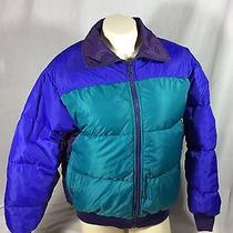 Vtg 90s Columbia Sportswear Radial Sleeve Puffer Jacket Womens Size Large Nylon Photo
