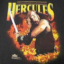 Vtg 90s Hercules Legendary Journeys Ultimate Warrior T-Shirt Xl Tv Show Fantasy Photo