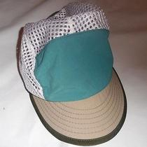 Vtg 90s Patagonia Mesh 5 Panel Hat Duck Bill Large Made in Usa Photo