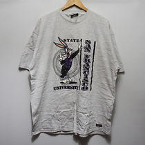 Vtg 90s San Francisco State University Bugs Bunny T-Shirt Mens Xxl Hip Hop Rap Photo