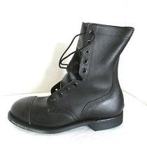 Vtg Addison Ansi Steel Toe Combat Military Grunge Field Boots 7  1/2 N  Photo