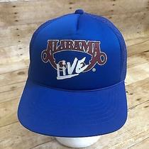 Vtg Alabama Live Snapback Mesh Trucker Country Band Tour Blue Baseball Hat Cap  Photo