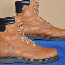 Vtg American Sportsman Insulated Brown Leather Mens 12 M Hunting Bootsexc Photo