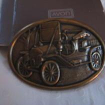 Vtg Avon Antique Car Belt Bucklemint Photo