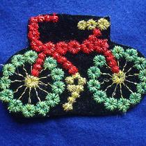 Vtg Bicycle Jean Jacket Bike Vest Shirt T Glove Boot Helmet Bag Wallet Cap Patch Photo