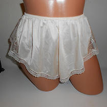 Vtg Bonjour Lacey Panties Blush Color Sissy Size Medium Tap Panties Photo