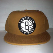 Vtg Brooklyn Nets Canvas Carhartt Style Snapback Hat Cap Rare Jay-Z Pierce Kidd Photo